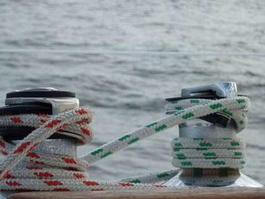 winnchs et bouts de voilier