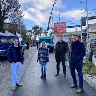 v.l.: Andreas Rey, Silvia Schoenemann, Gunter Grimm und Thomas Schaffert