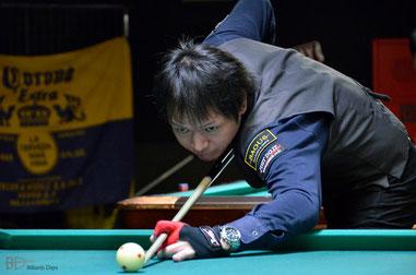 第1戦優勝の赤狩山幸男(JPBA)