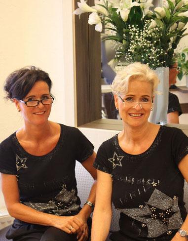 Claudia Rosemann und Pia Becker