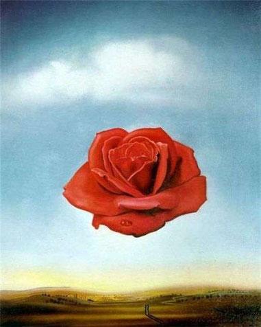 Медитативная роза - самые известные работы Дали