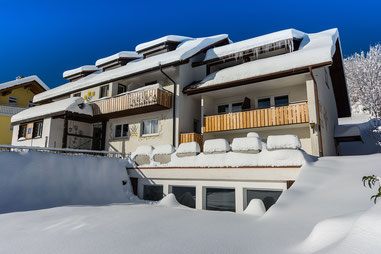 Hotel Arnica im Winter