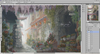 Screenshot Work in Progress Wip Entstehungsschritt Entstehung The Market Markt Flower Market Blumenmarkt