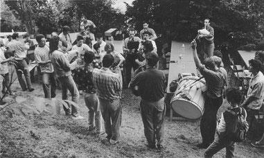 Les Bohaires de Gasconha en 1993 - Castelnau Barbarens - D. Oliver