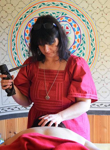 Shantiwoman schamanische Energiemassage