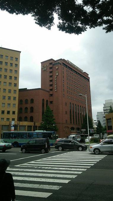 越後から、杜の都・仙台に無事、たどり着きました