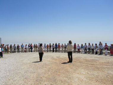 Hymne aux oiseaux, Jérusalem
