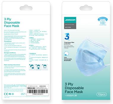 Mund und Nasenschutzmaske (MNS- Atemschutz-Maske)