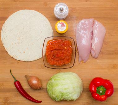 Chicken Fajitas Rezept