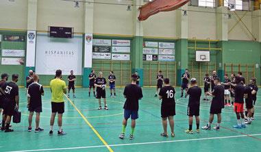 La directiva del Club no faltó al primer entrenamiento  / Foto: Paco Román