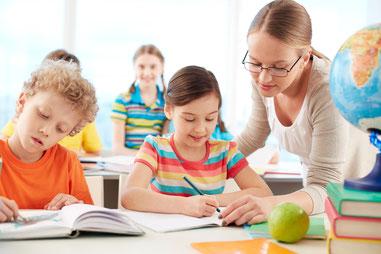 Soutien scolaire enfant professeur