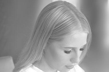 """Christina Peheim, das Gesicht von """"Signatur Liebe"""""""