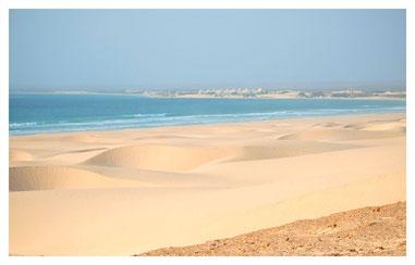 Sanddünen von Morro d'Areia auf Boa Vista auf der Süd Tour mit Boa Vista Tours