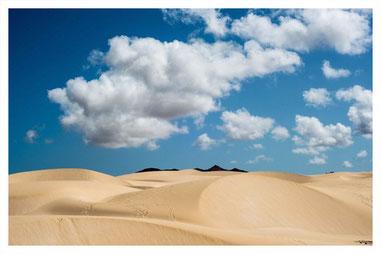 Wüste Deserto Viana auf Boa Vista auf der Süd Tour von Boa Vista Tours