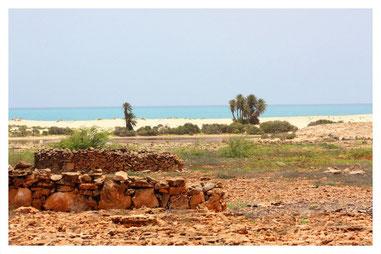verlassenes Fischerdorf Cural Velho auf Boa Vista auf der Süd Osten Boa Vista Tour mit Boa Vista Tours