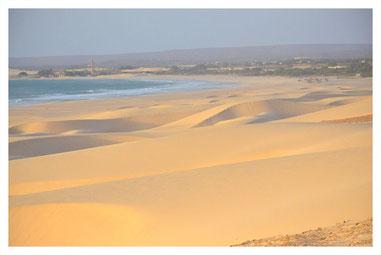 Sanddünen von Morro d'Areia auf Boa Vista auf der großen Boa Vista Exclusiv Tour mit Boa Vista Tours