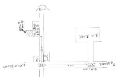 樹型の里 略図