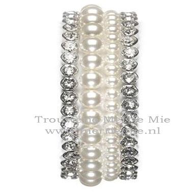 4 Bracelet set - silver