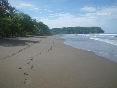 Strand vor der Villa Kunterbunt