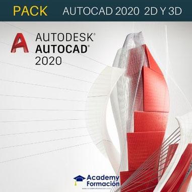 CURSOS DE AUTOCAD 2020 2D Y 3D
