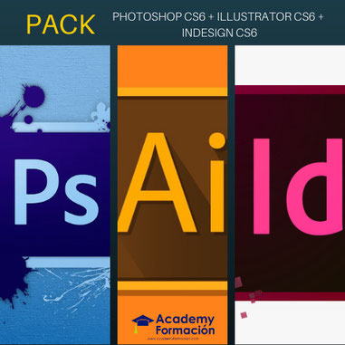 curso de photoshop cs6 + illustrator cs6 + indesign cs6
