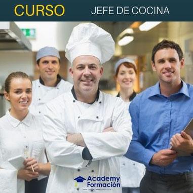 CURSO DE JEFE DE COCINA