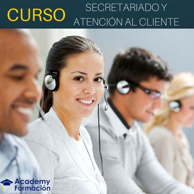 curso de secretariado y atención al cliente