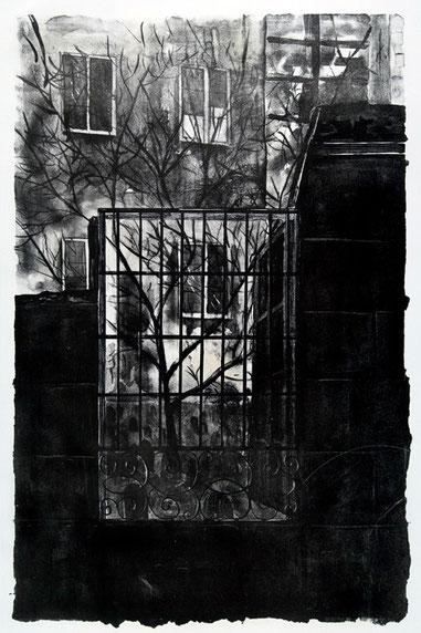 Ventana 2007, litografía 56X38 cm