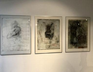 Cornelia Weihe, Zeichnungen, Foto: Rosemarie Vollmer >> Link zum Werkkommentar
