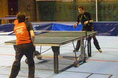 D3 contre Boisseuil 6 : Joris N. (590), Nicolas M. (500), Claude F.(574) et Jacques B. (500)