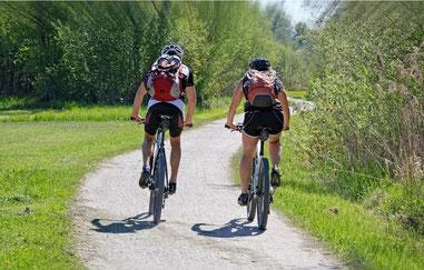 Markus und ich lieben Fahrradfahren!