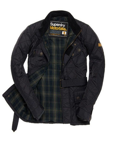 Superdry Time Trial Quilt Jacket