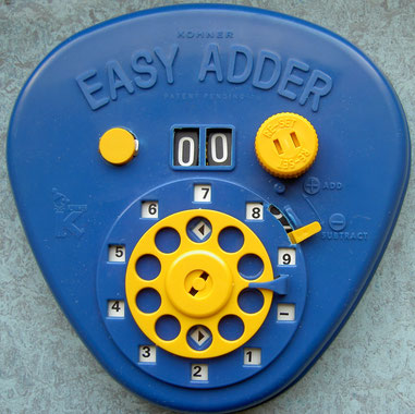 educational adder, machine a calculer