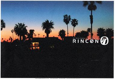 RINCONカタログ届きました。