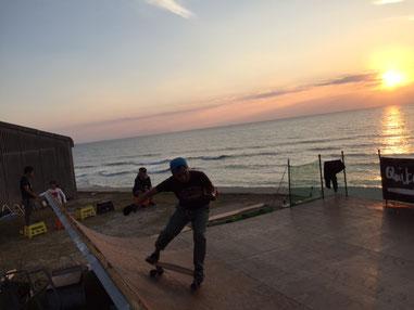 海から戻ってきての、Sunset Timeまでガッツリ~