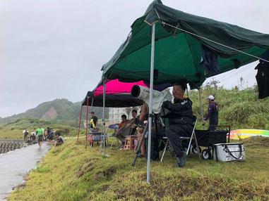 杉さん雨の中オツカレサマデシタ。