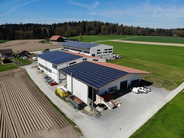 Soltermann Solar GmbH - Linkfoto Anlagebeispiele Industrie