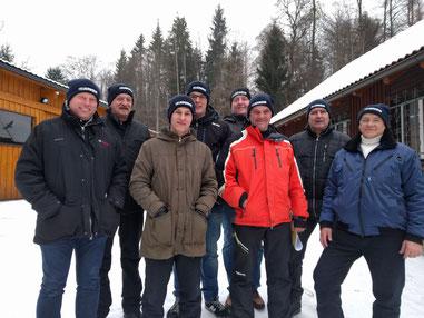 Abschnitts Eisstockturnier 29.01.2017