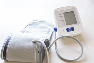 血圧と体温をバロメーターに