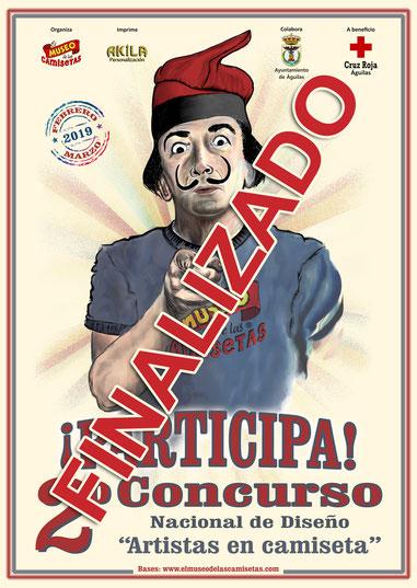 "2º Concurso Nacional de Diseño ""Artistas en Camiseta"""