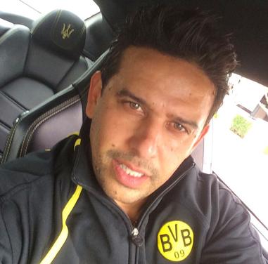 Amos Sasy ist im Herzen Dortmunder geblieben (Foto: Instagram)