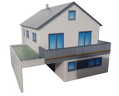 3D-Druck Einfamilienhaus