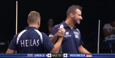 大会オープニングマッチはギリシャ勝利!