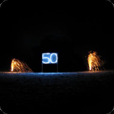 Geburtstagsfeuerwerk von funkenwelt in Bretten