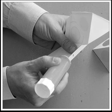 www.presto-tangram.com - Appliquer la colle.