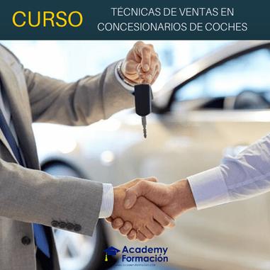 curso de técnicas de ventas en concesionarios de coches