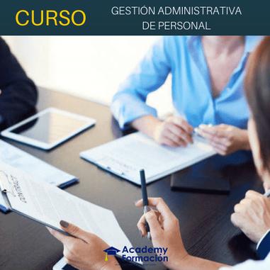 curso de gestión administrativa de personal
