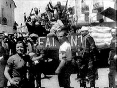 Militante fra den anarkistiske organisation FAI