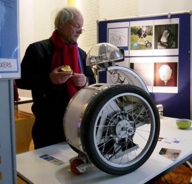 BiBot auf der MakerFaire in Dortmund