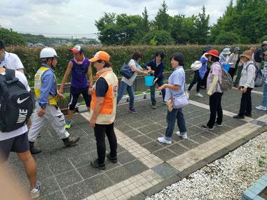 2017/7 体験型訓練風景